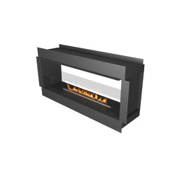 Forma 1500 See-Through | Fireplace inserts | Planika