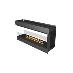 Forma 1500 Room Divider   Fireplace inserts   Planika