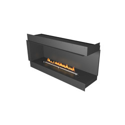 Forma 1500 Right Corner | Fireplace inserts | Planika
