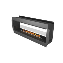 Forma 1800 See-Through | Fireplace inserts | Planika