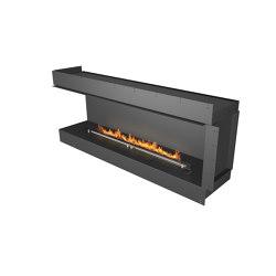 Forma 1800 Left Corner | Fireplace inserts | Planika