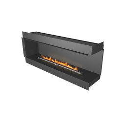 Forma 1800 Right Corner | Fireplace inserts | Planika