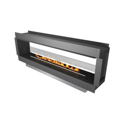 Forma 2300 See-Through | Fireplace inserts | Planika