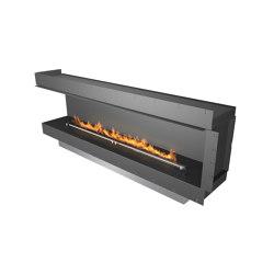 Forma 2300 Left Corner | Fireplace inserts | Planika