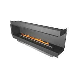 Forma 2300 Right Corner | Fireplace inserts | Planika