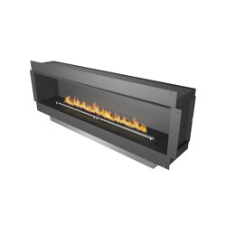 Forma 2300 Single-Sided | Fireplace inserts | Planika