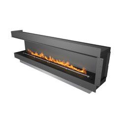 Forma 2700 Left Corner | Fireplace inserts | Planika