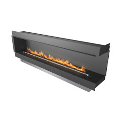 Forma 2700 Right Corner | Fireplace inserts | Planika