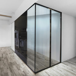Double Glazed Partitions | GF01 | Sound absorbing architectural systems | PCA