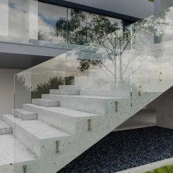 Point Fixing Balconies | M8 | Stair railings | PCA
