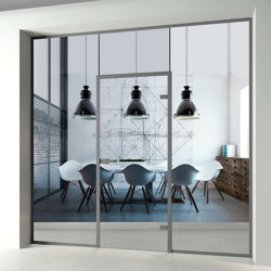 Single Glazed Partitions | A11 | Sound absorbing architectural systems | PCA