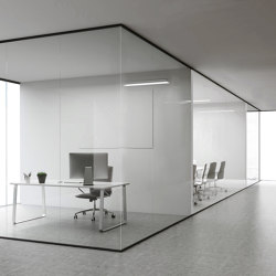 Single Glazed Partitions | A9 | Sound absorbing architectural systems | PCA