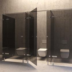 WC Cubicles | ST9 | Shower screens | PCA