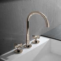 Icona Classic | 3-hole washbasin mixer | Wash basin taps | Fantini