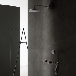Icona Classic | 3/4'' built-in thermostatic shower mixer - Shower arm - Showhead | Shower controls | Fantini