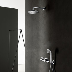 Icona Classic | 3/4'' built-in thermostatic shower mixer - Shower arm - Showhead - Shower set | Shower controls | Fantini