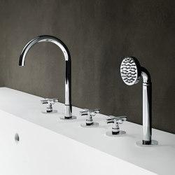Icona Classic | Deck-mount bathtub mixer | Bath taps | Fantini