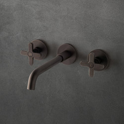 Icona Classic | Batería lavabo a pared | Grifería para lavabos | Fantini