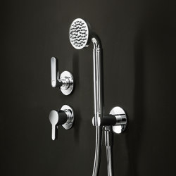 Icona Deco | Built-in shower mixer - Shower set | Shower controls | Fantini