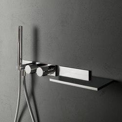 Milano | Built-in shower mixer - Built-in bathtub spout | Bath taps | Fantini