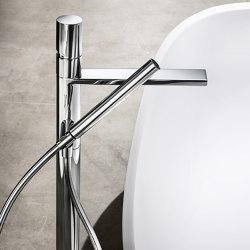 Milano | Floor-mount bathtub mixer | Bath taps | Fantini