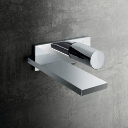 Milano | Wall-mount washbasin mixer | Wash basin taps | Fantini
