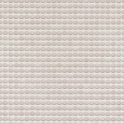 Loop | light ivory glossy | Ceramic mosaics | AGROB BUCHTAL