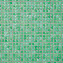Loop | sea green glossy | Ceramic mosaics | AGROB BUCHTAL