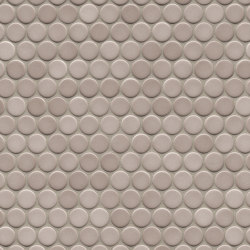Loop | ivory glossy | Ceramic mosaics | AGROB BUCHTAL