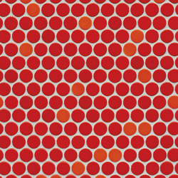 Loop | coral red glossy | Ceramic mosaics | AGROB BUCHTAL