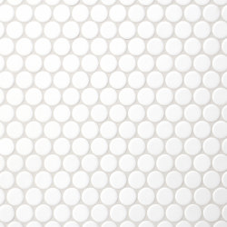 Loop | arctic white | Ceramic mosaics | AGROB BUCHTAL