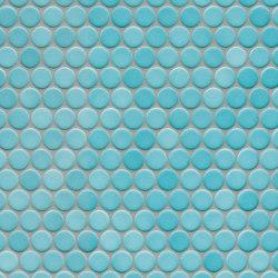 Loop | aqua blue | Ceramic mosaics | AGROB BUCHTAL
