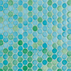 Loop | ocean glossy | Ceramic mosaics | AGROB BUCHTAL