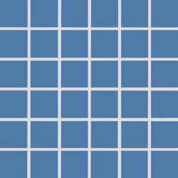 Plural | medium azure | Ceramic mosaics | AGROB BUCHTAL