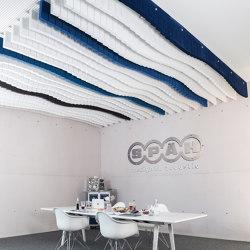 Basotect | designed acoustic baffle basotect | Sound absorbing ceiling systems | SPÄH designed acoustic