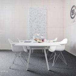 recycled greenPET I designed acoustic divider air fiber   Sound absorbing objects   SPÄH designed acoustic