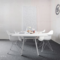 recycled greenPET I designed acoustic divider air twisted   Sound absorbing objects   SPÄH designed acoustic