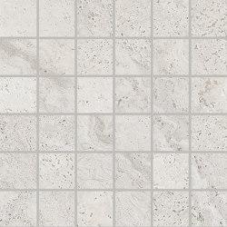 Unique Travertine Mosaico 5x5 Silver | Ceramic mosaics | EMILGROUP