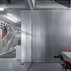Lindner Logic 100 Acoustic | Wall partition systems | Lindner Group