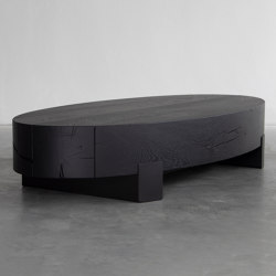 Beam oval coffee table | Coffee tables | Van Rossum
