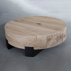 Beam round coffee table | Coffee tables | Van Rossum