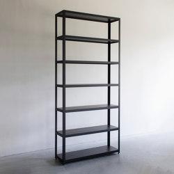 Two display cabinet   Shelving   Van Rossum
