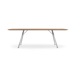 AKIO Steel | Dining tables | Girsberger