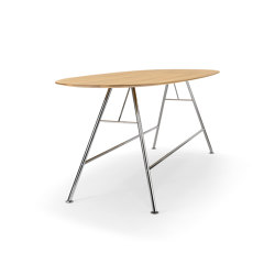 AKIO Steel | Tables de repas | Girsberger