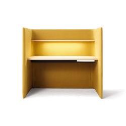 Floater desk, higher model version | Privacy screen | COR