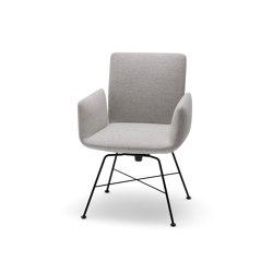 Jalis Drehstuhl, Metallgestell   Stühle   COR