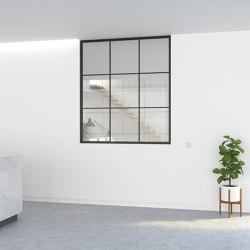 Cloison vitrée 3530 | Systémes de paroi de séparation | PortaPivot