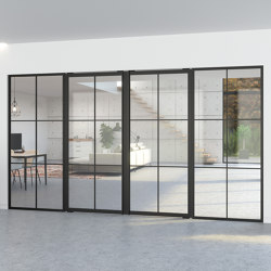 Portapivot 5730 | Double door + fixed partitions | Internal doors | PortaPivot