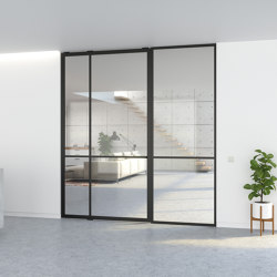 Portapivot 5730 | Single door + fixed partition | Internal doors | PortaPivot