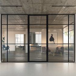 Portapivot 5730 | Single door + fixed partitions | Internal doors | PortaPivot